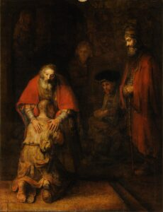 Why did rembrandt paint the prodigal son