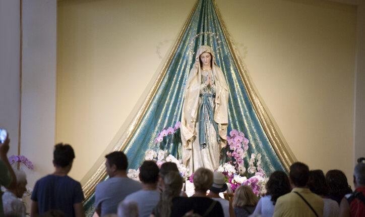 Altar of Our Lady of Medjugorje