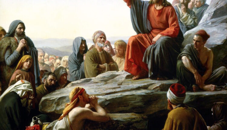 The Sermon on the MountCarl Bloch, 1890
