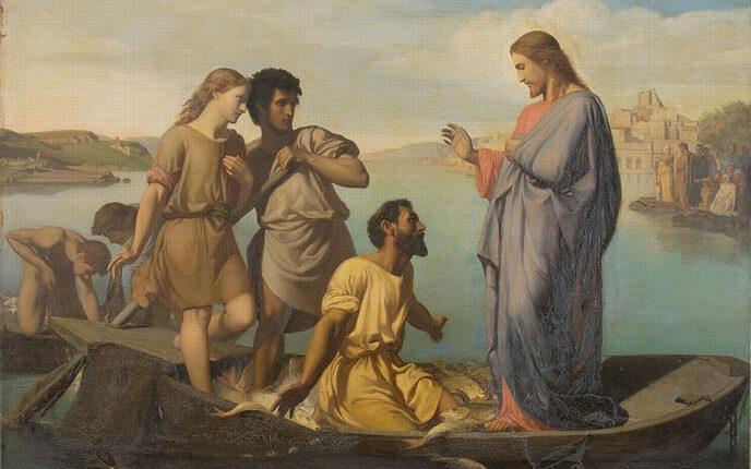 Picou,_Henri_Pierre_-_La_Pêche_miraculeuse_-_19th_century