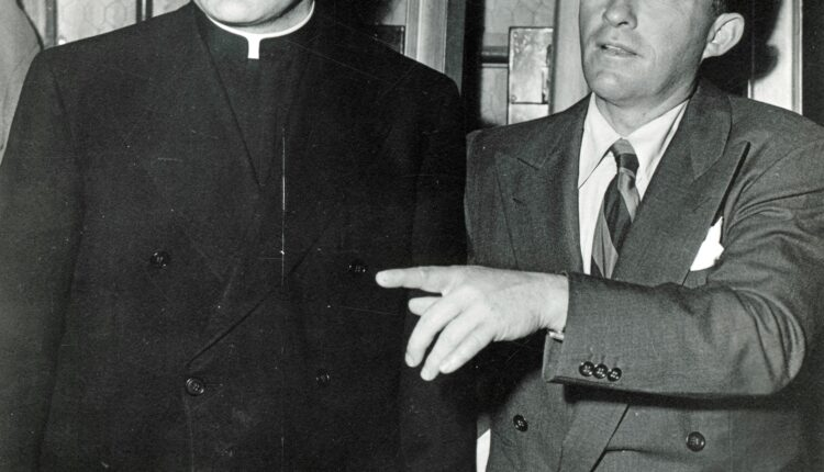 Father Peyton and Bing Crosby